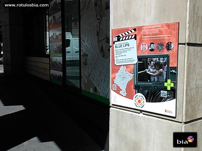 señalización turistica películas Navarra