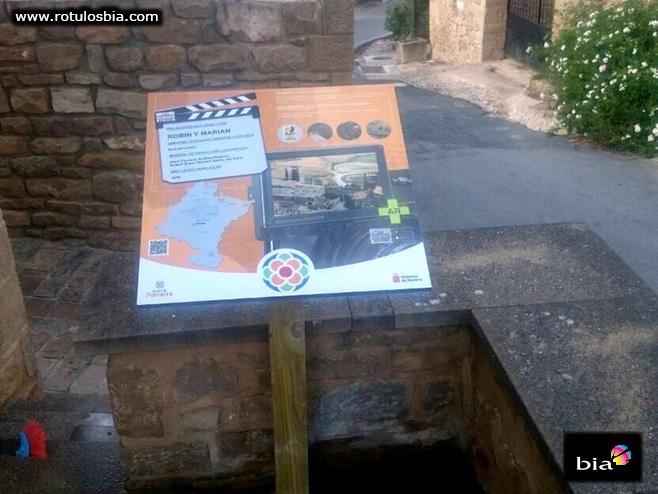 Madera autoclave para señalización turística
