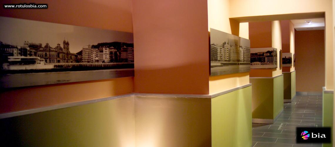 Aluminio impreso para decoración interior