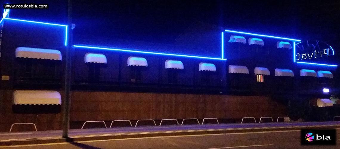 Iluminación LED para decoración exterior